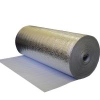 Изоляция Теплоизофол марка А-03мм (30м2) (25 м.п) фольгированный
