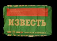 Известь гашеная 20 кг КБС