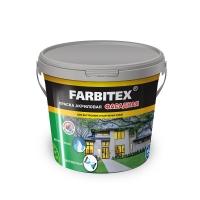 Краска в/д FARBITEX акриловая фасадная 3 кг