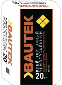 Клей плиточный универсальный 20 кг BAUTEK