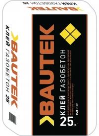 Клей  для газобетона 25 кг  BAUTEK