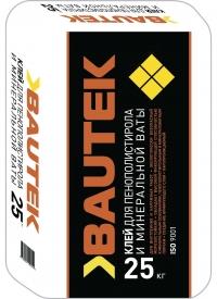 Клей для пенополистирола и минеральной ваты 25 кг BAUTEK