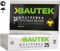 Шпатлевка гипсовая белая 25 кг  Bautek ФИНИШНАЯ
