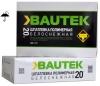 Шпатлевка полимерная белоснежная 20 кг Bautek